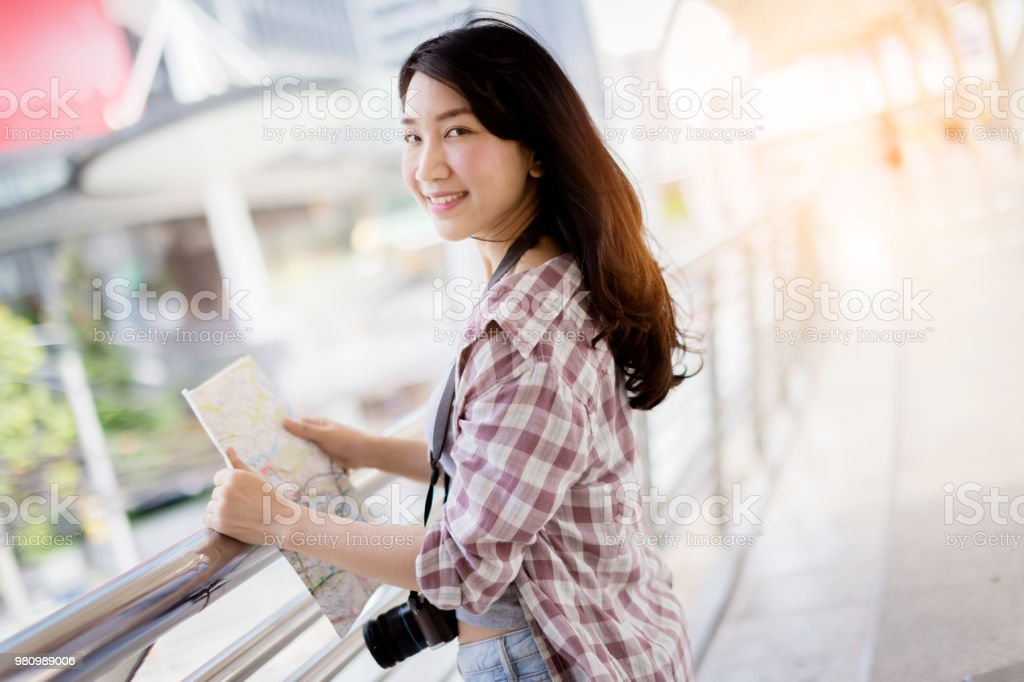 Asia, Thailand, Activity, Airport, Amateur. beautiful happiness young asian  ...