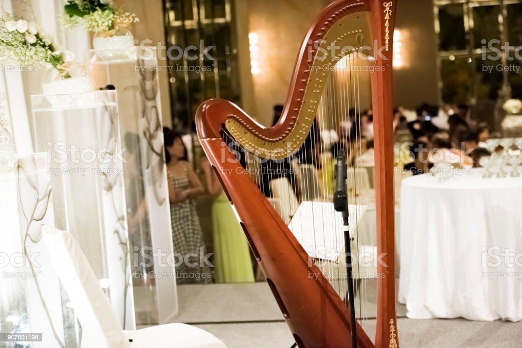 Schöne Harfe – Foto