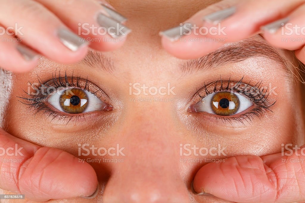Beautiful Hazel Eyes Stock Photo Amp More Pictures Of Adult
