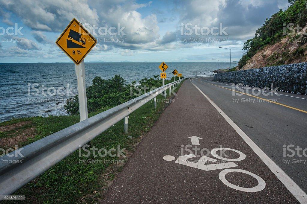 Beautiful  Highway stock photo