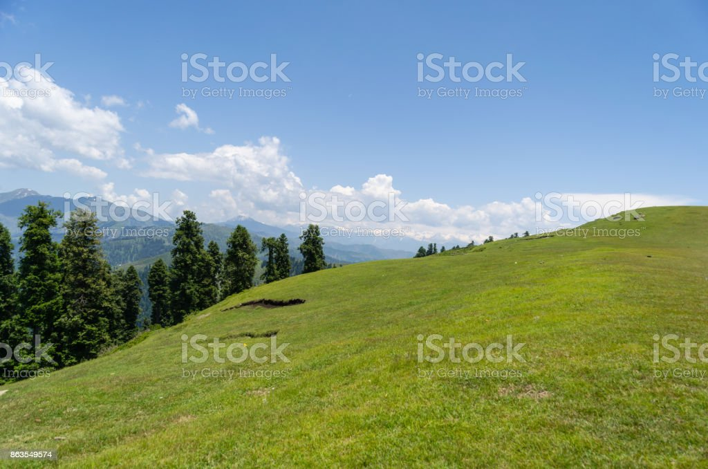 Beautiful Hill Top stock photo