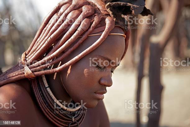 Happy Himba girl, Namibia - Stock Editorial Photo © znm666