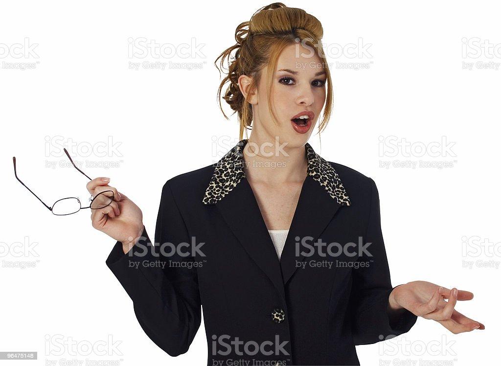Beautiful Hispanic Business Woman royalty-free stock photo