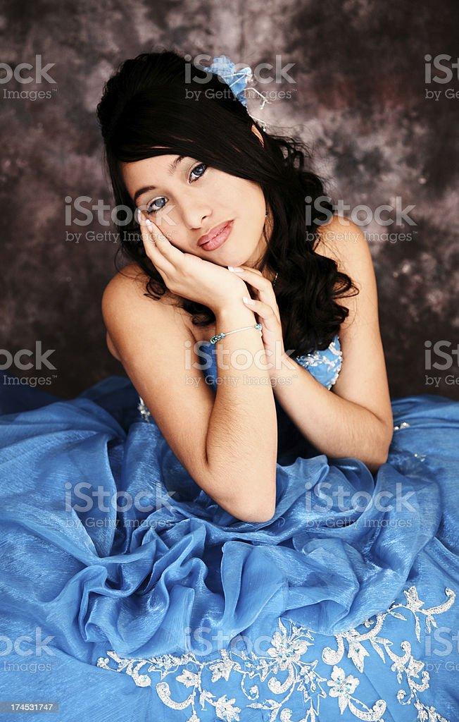 Bella ispanica Teen - foto stock