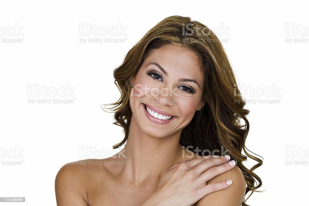 Beautiful Hispanic woman royalty-free stock photo