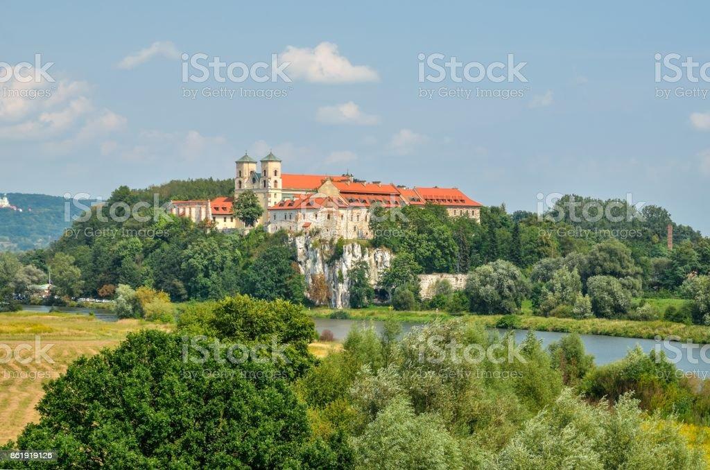 Beautiful historic monastery. stock photo