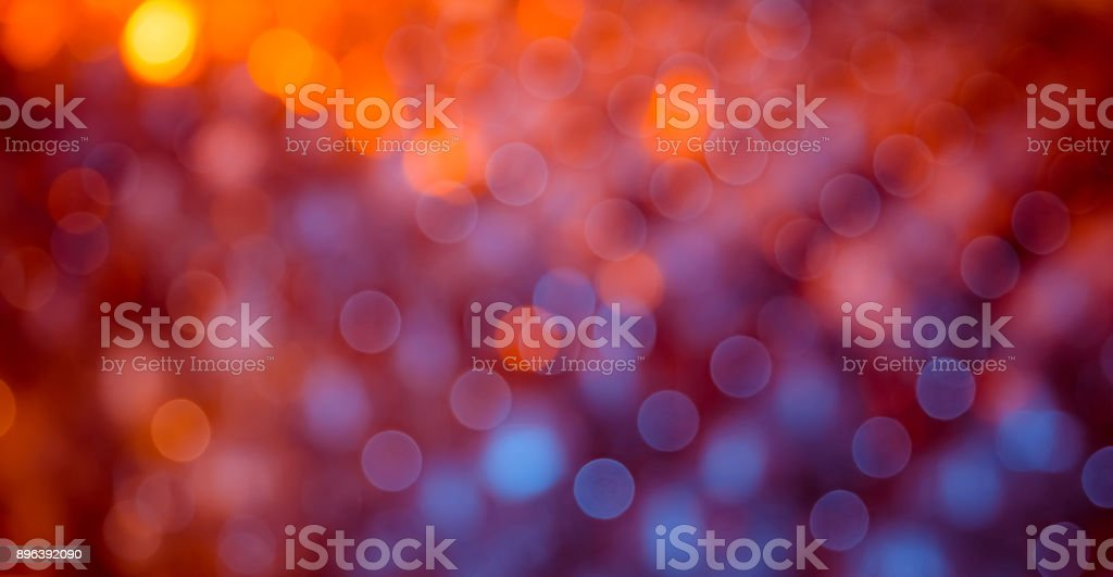Beautiful Holiday Background with bokeh lights. - foto stock