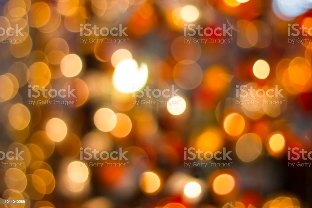Blurred abstract bokeh background for Beautiful holiday Decorations...