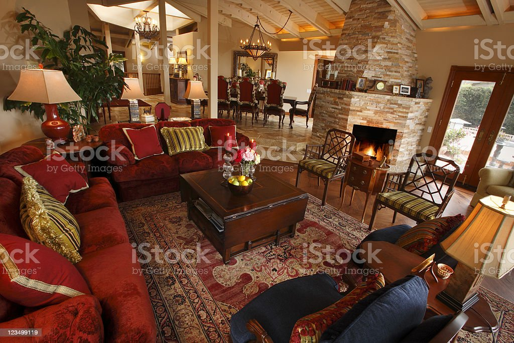 Beautiful Home Interior stock photo