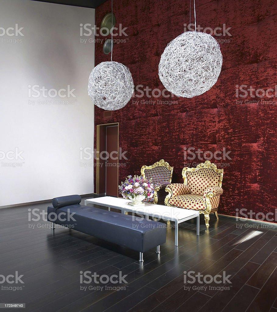 Beautiful Home Interior royalty-free stock photo