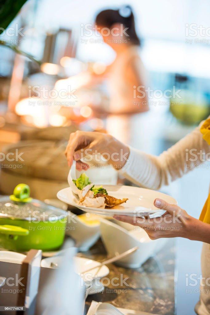 Beautiful hotel buffet royalty-free stock photo
