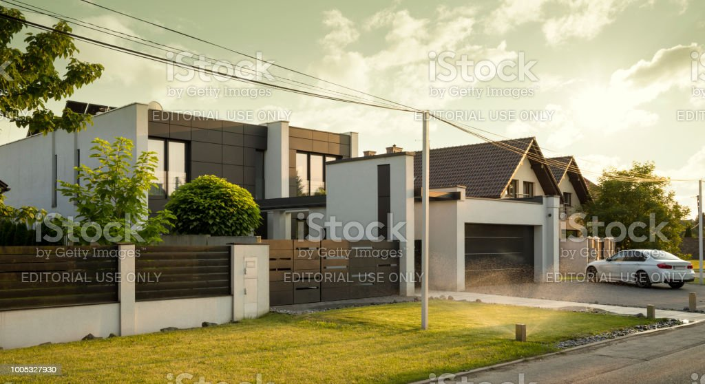 Beautiful House Exterior Stock Photo Download Image Now Istock
