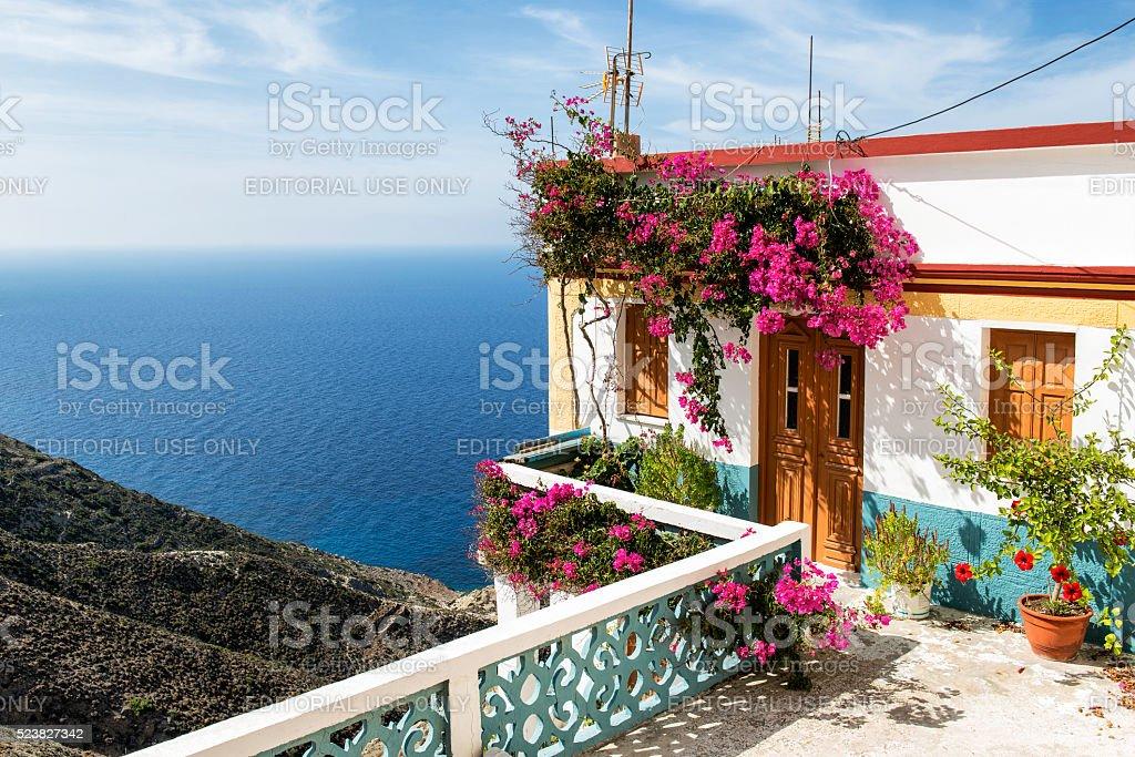 Schönes Haus in Olympos, Insel Karpathos – Foto