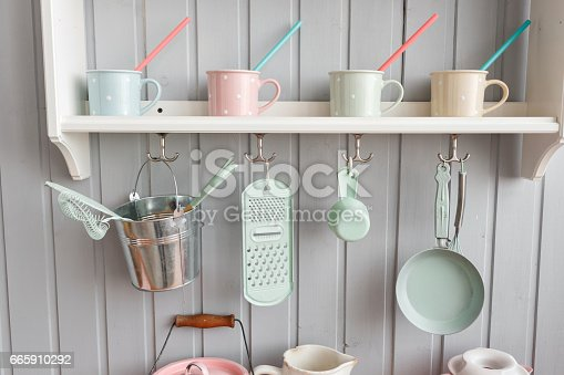 665910118 istock photo beautiful house, interior, view of the kitchen. 665910292
