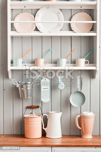 665910118 istock photo beautiful house, interior, view of the kitchen. 665910344