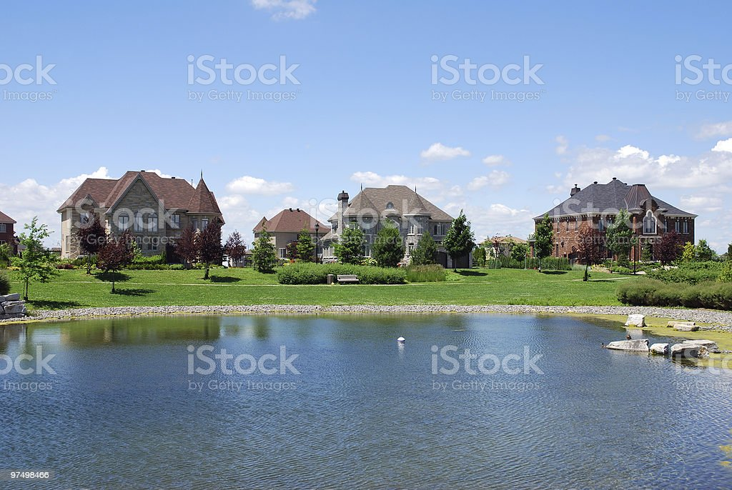 Beautiful house royalty-free stock photo