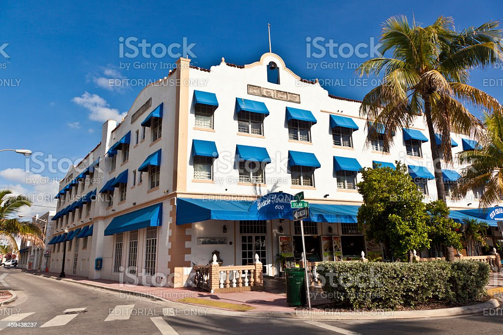Beautiful Houses In Art Deco Style South Miami Stock Photo Download Image Now Istock