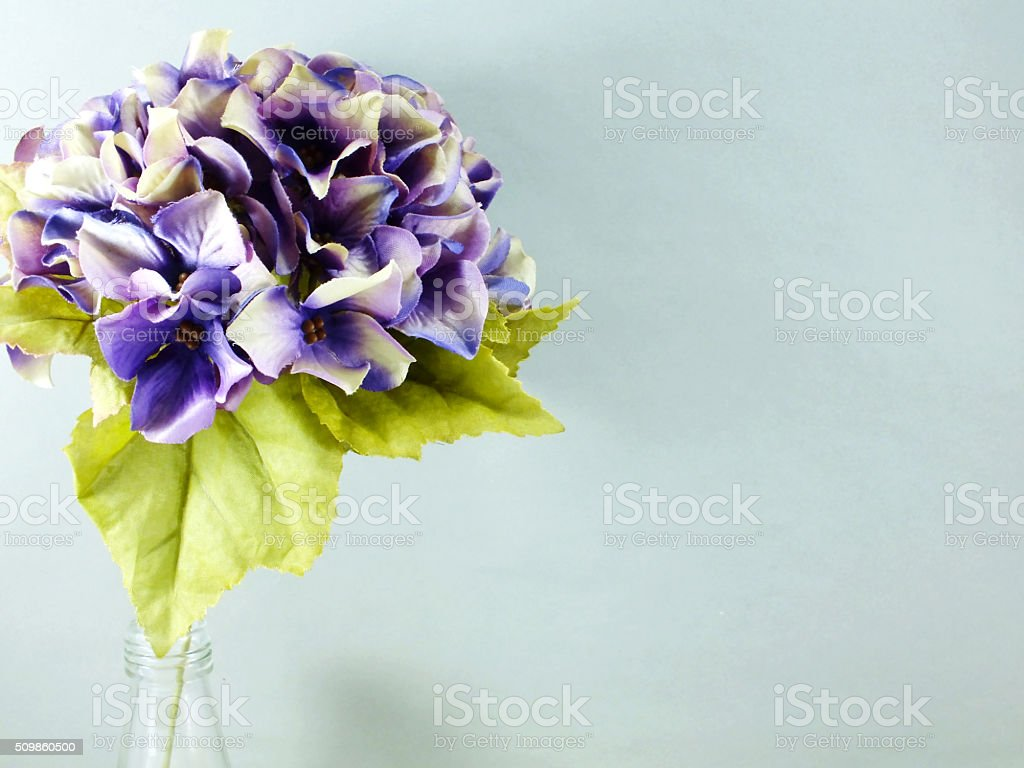 Beautiful Hydrangea Artificial Flower Bouquet Stock Photo Download Image Now Istock