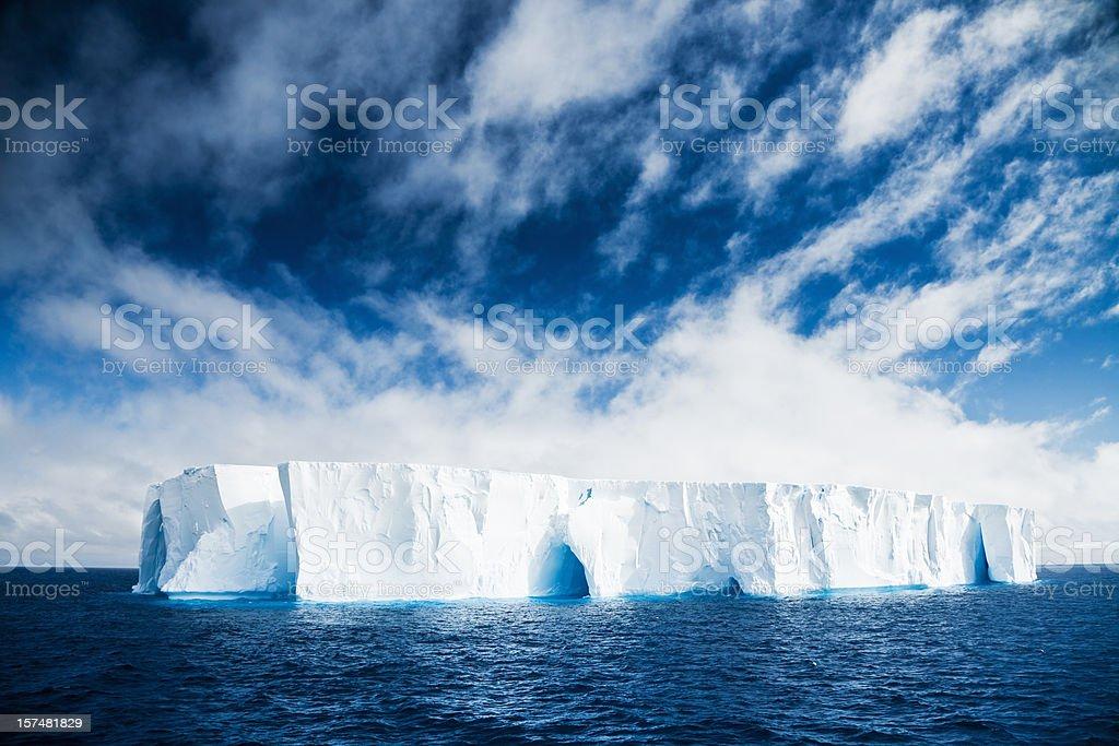 Beautiful Iceberg Antarctica stock photo