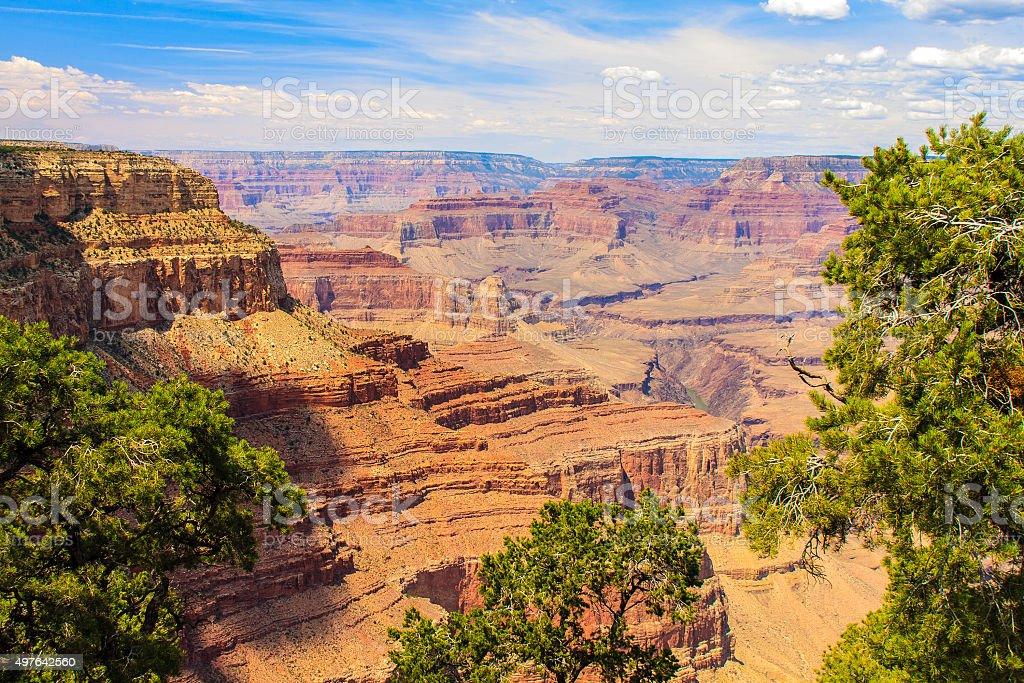 Beautiful Image of Grand Canyon stock photo
