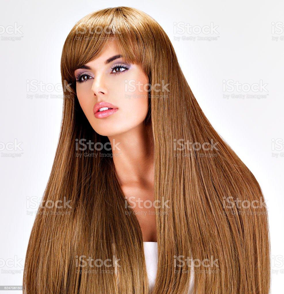 Indische frauen lange haare