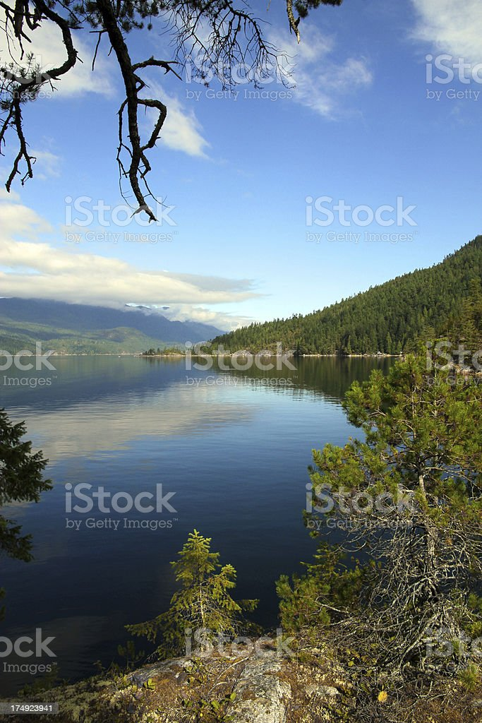 Beautiful Inlet stock photo