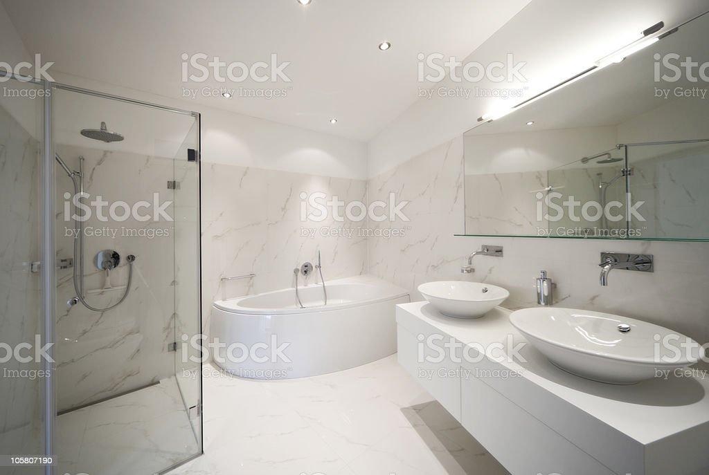 Schöne Interieur eines modernen Hauses - Lizenzfrei Architektur Stock-Foto