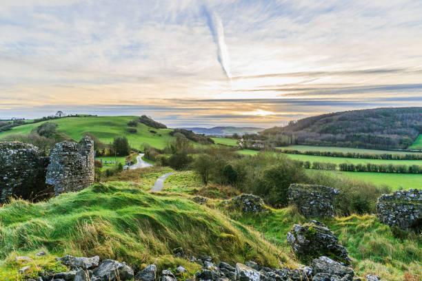 magnifique paysage d'irlande - irlande photos et images de collection