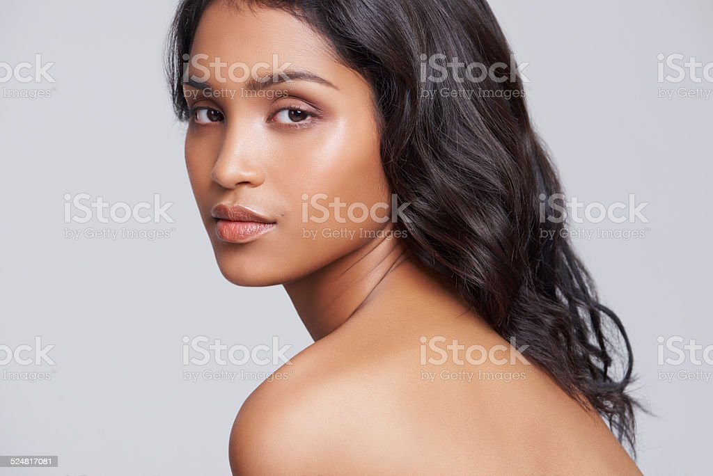 Beautiful is knowing thartt stock photo