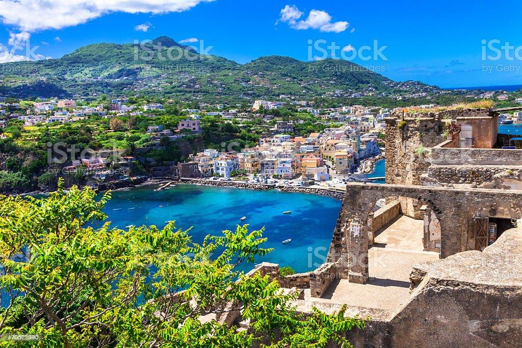 Beautiful Ischia, Italy stock photo