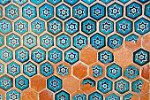 Beautiful Islamic patterns of Uzbekistan
