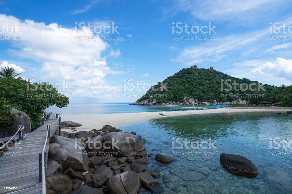 piękna wyspa Nangyuan Island, Tajlandia , Wakacje - Zbiór zdjęć royalty-free (Azja)
