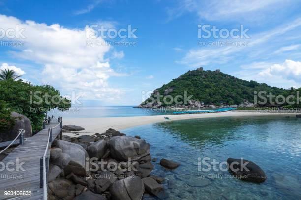Piękna Wyspa Nangyuan Island Tajlandia Wakacje - zdjęcia stockowe i więcej obrazów Azja