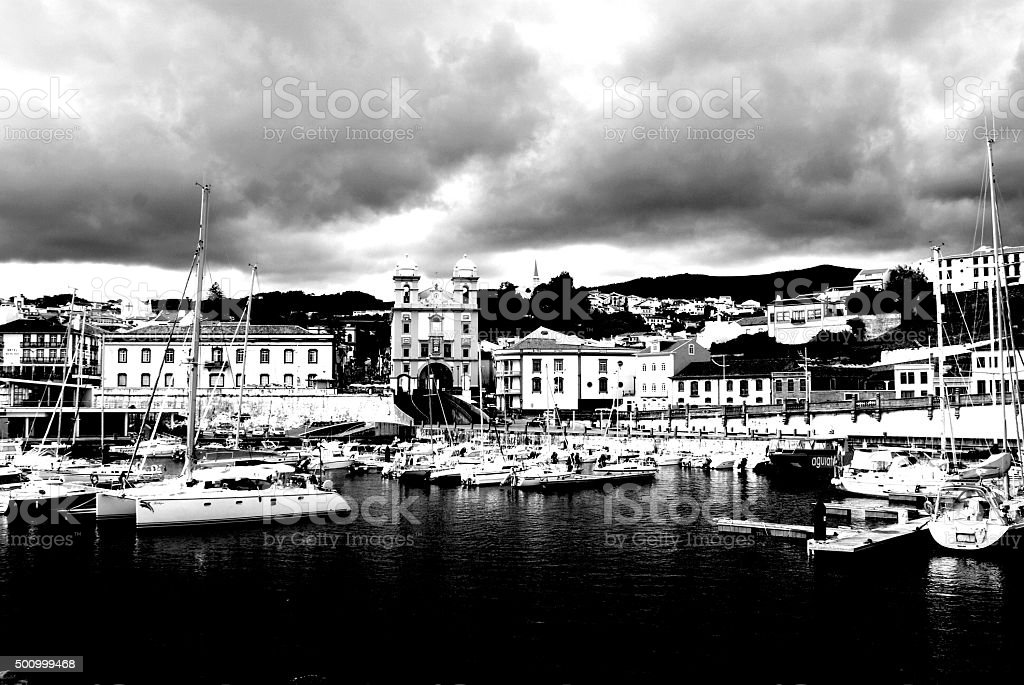 Beautiful Island Side Port stock photo