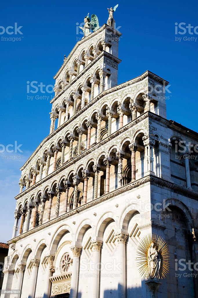 Beautiful Italian cathedral royalty-free stock photo