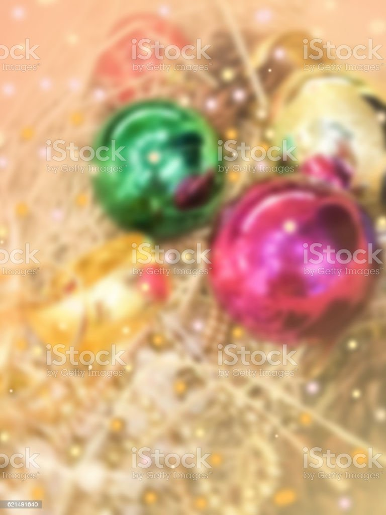 beautiful item decorated for Christmas foto stock royalty-free