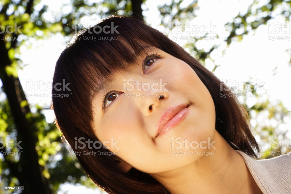 Beautiful Japanese Woman royalty-free stock photo