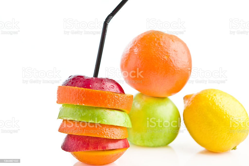 beautiful juicy fruits stock photo