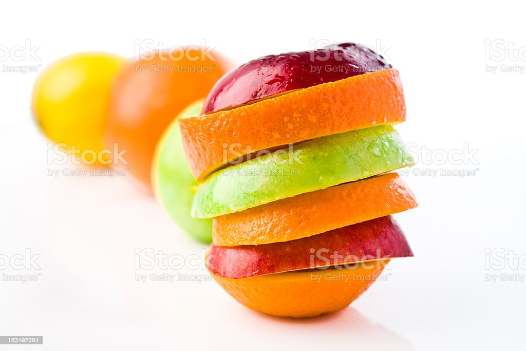 beautiful juicy fruits royalty-free stock photo