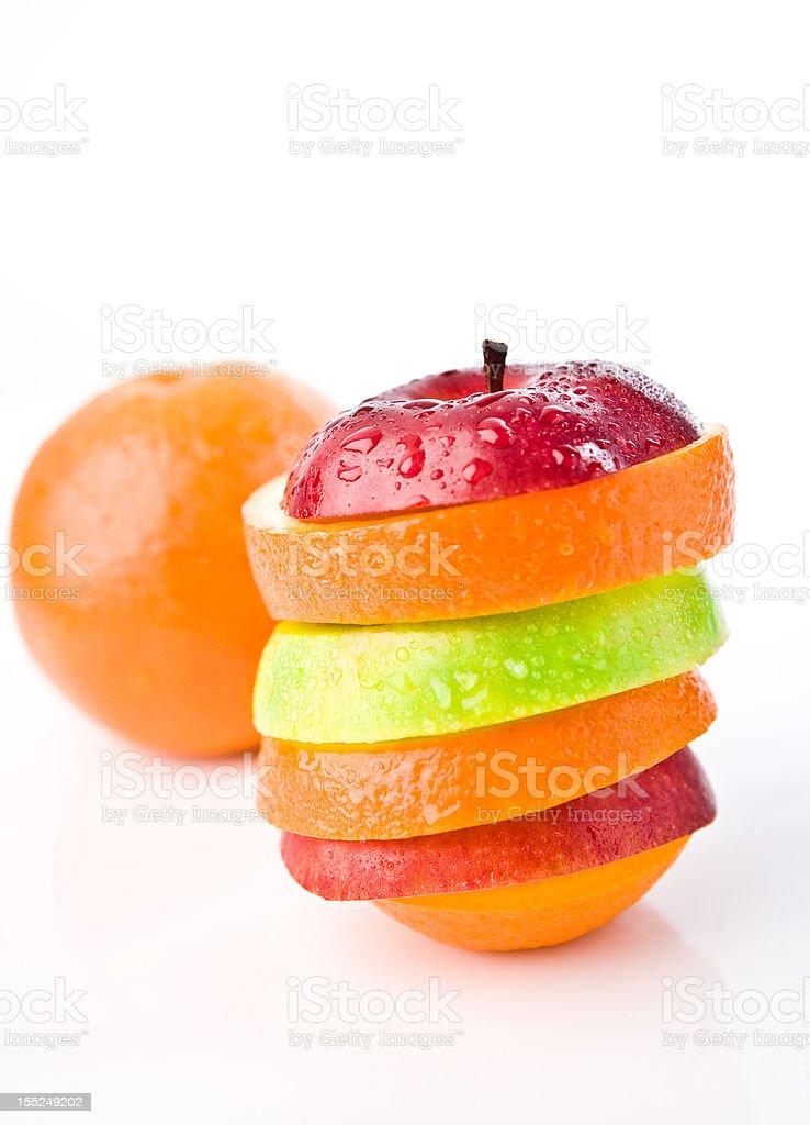 beautiful juicy fruits royalty-free stock photo