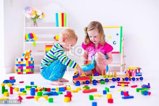 istock Beautiful kids playing at day care 476541814