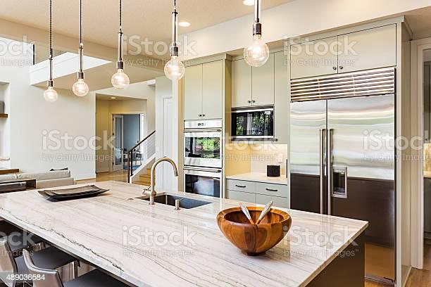 Beautiful kitchen in new luxury home picture id489036584?b=1&k=6&m=489036584&s=612x612&h=sacgda k3y9qbom trbwksqxcfo6sqhtwhoz 3wge94=