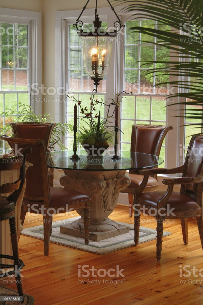 Beautiful Kitchen Nook royalty-free stock photo