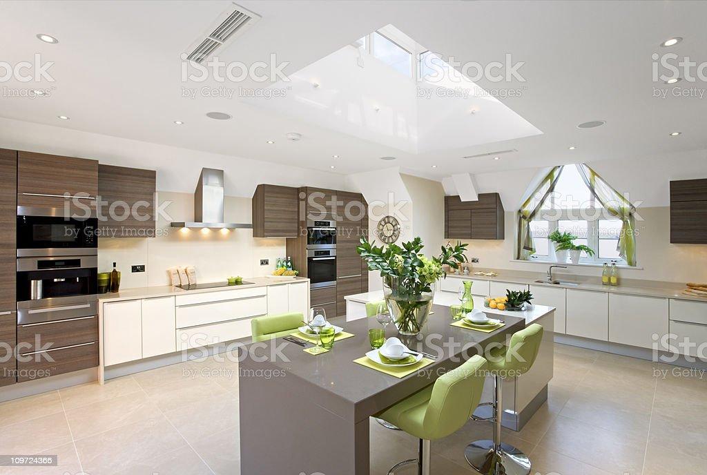 Beautiful Kitchen stock photo