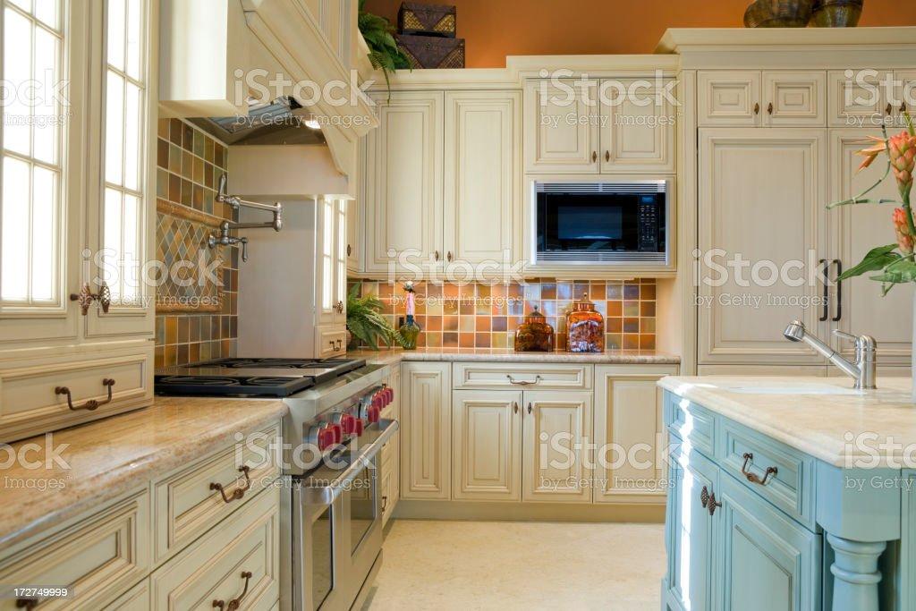 Beautiful Kitchen royalty-free stock photo