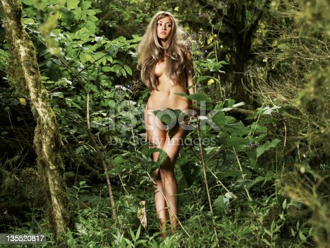 Beautiful Lady In The Rainforest Stock Photo & More ...