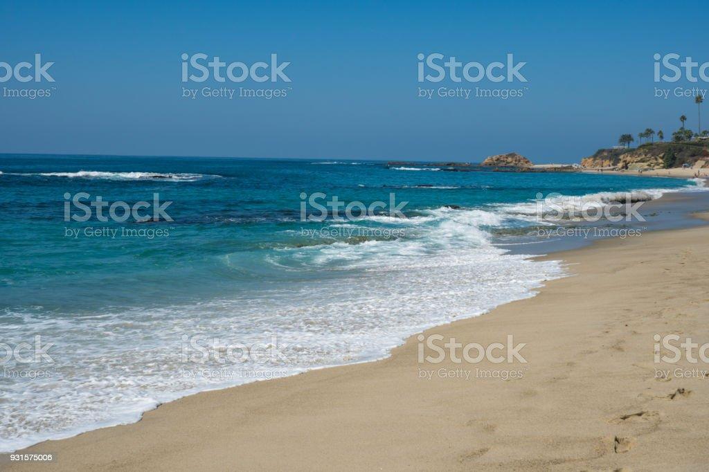 Beautiful Laguna Beach, Southern California stock photo