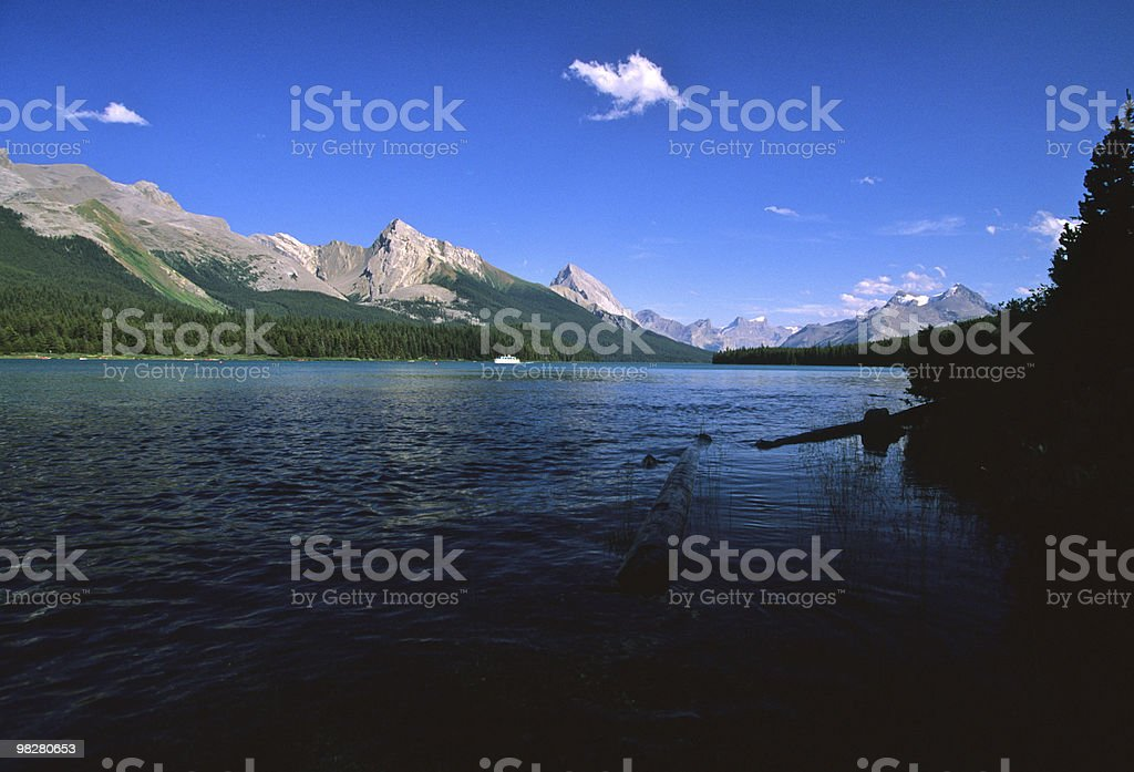 Beautiful Lake in the Rockies royalty-free stock photo