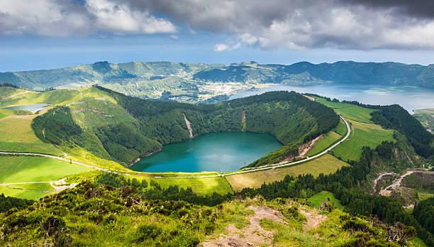 See von Sete Cidades, Azoren), Portugal – Europa – Foto