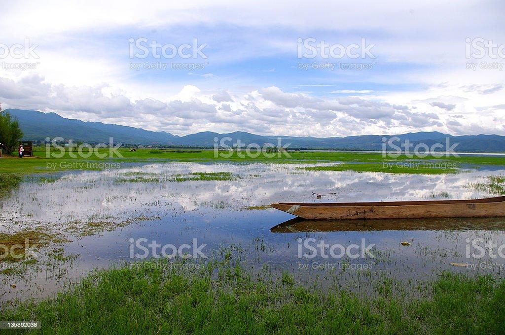 Beautiful Lake royalty-free stock photo